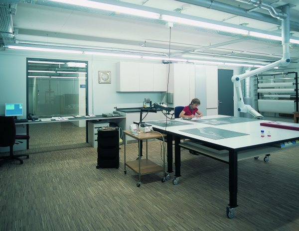 Restoration Workshop, Bern Collection Center, 2003 © Photograph Guy Jost